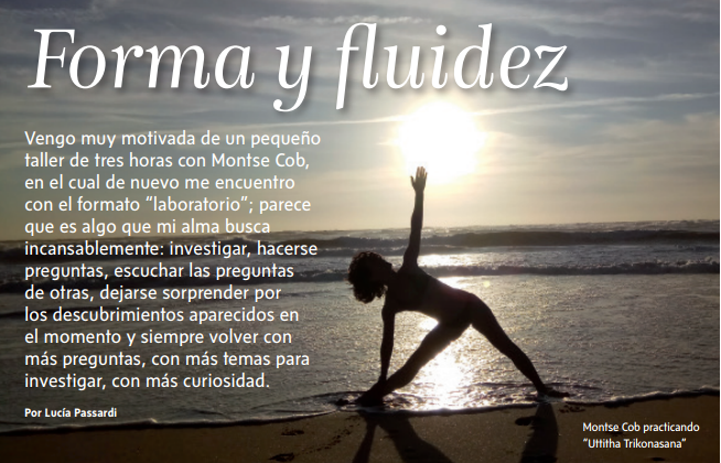 Yoga Journal - forma y fluidez